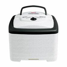 "Nesco Food Dehydrator Square Drying Kitchen Appliance New ""Box water damaged"""