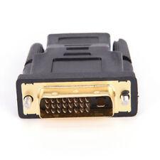ADAPTATEUR RACCORD HDMI FEMELLE DVI MALE LCD ECRAN VIDEO PC PLASMA 3D LED 24+1