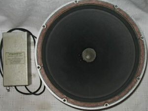 """15"""" TANNOY SILVER LSU/HF/15L DUAL CONCENTRIC SPEAKER & CROSSOVER"""