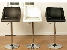 Patricia Brown Faux Leather Bar Stool - Gas Lift Bar Stool Brown (Set of 2)