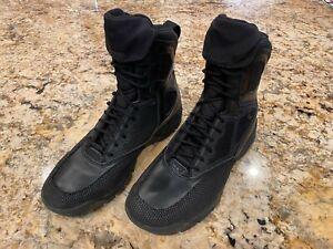 "Lalo Shadow Intruder 8"" Tactical Boots 9.5, Black Ops, Navy SEAL Salomon Merrell"