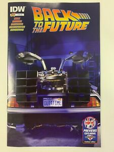 IDW BACK TO THE FUTURE #1 : MCM EXCLUSIVE COVER : NM CONDITION