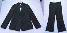 Sussan Suit Blazer Jacket AND Pants Sze 12 Grey MULTI Business Work NWT RRP $230