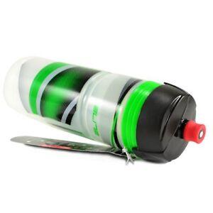 Elite SpeedDrink JossaNova Bicycle Water Bottle 750ML , Black/Green