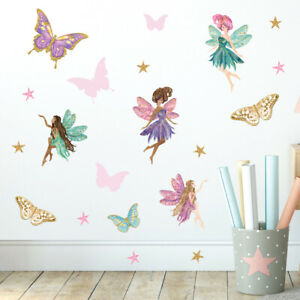 Fairy Wall Stickers, Wall Decals, Fairy Garden FARY.7