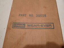 Lincoln Part No. 350728 Heater Cover Fresh-o-Matic Sealed in Org. Pkg