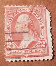 WASHINGTON 2 CENT USED STAMP