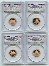 2009 S Lincoln 4 Coin Cent Set PCGS PR69DCAM