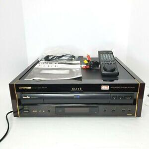 Pioneer Laserdisc Elite DVL-91 LD/CD/DVD/CD Video Player W/Remote & Manual EUC