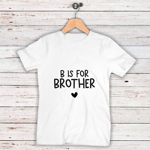 Promoted to Big Brother | Children's Tee | New Sibling Announcement | Big Bro