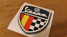 Vespa spain retro bike sticker car campervan sticker 10x9cm