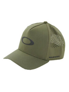 Oakley Men's Crossover Halo D.B.Snap Back Cap 100% Polyester Reflective Logos**