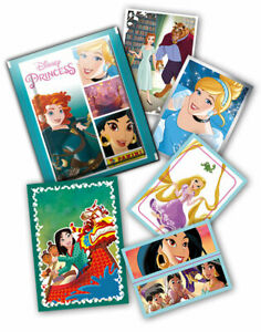 Disney Princess Das Herz einer Prinzessin - 40 Sticker + 10 Karten keine doppelt