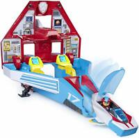 Paw Patrol 2-in-1 Transforming Mighty Pups Jet Command Center Kids Toy Gift