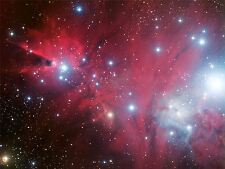 ART PRINT POSTER SPACE STARS PINK NEBULA GALAXY UNIVERSE HUBBLE NOFL0431