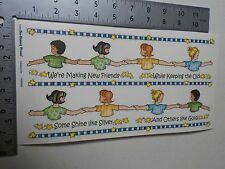 BO BUNNY GIRL SCOUTS MAKING FRIENDS BORDERS STICKERS SCRAPBOOKING NEW A2876