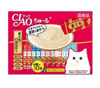 Inaba CIAO Cat Food 14g X 40 Stick X 2 Total 80 Sticks Pet Cats Supplies_imga