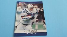 1990 PRO SET FOOTBALL FREDD YOUNG CARD #138***INDIANAPOLIS COLTS***