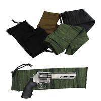 "Pistol Gun Sock Knit Handgun Gun Sock 14"" Sleeve Case Hunting Adjustable"