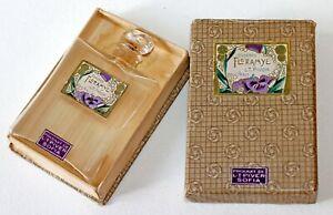 Antique L.T.Piver FLORAMYE Empty Perfume Bottle w/Box 1920's