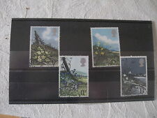 Flowers Decimal Used Great Britain Commemorative Stamps