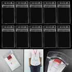 10pcs Soft Plastic Clear ID Credit Card Sleeves Protectors Dustproof Waterproof