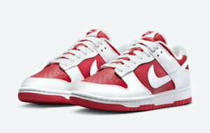 US 9 Nike Dunk Low 'University Red' (2021)