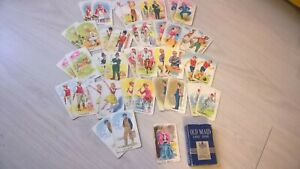 Vintage Chad Valley Old Maid Card Game