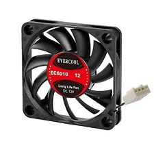 Evercool 60mm 6cm 60 x 60 x 10 12 Volt PC case Fan (PWM)