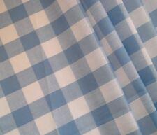 Blue Check VW CAMPER VAN Caravan Curtains T2 T4 T5 T25 Orders Welcome *Lined*