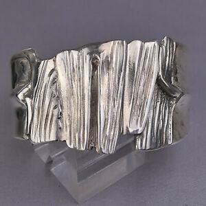 """Organic Schmuck- Design, Armreif Silber 925, signiert """"H. L."""" ungetragen  #15-16"""