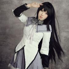 Shakugan no Shana Cosplay Women's Long Black Lolita Synthetic Fashion Anime Wig