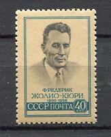 28286) RUSSIA 1959 MNH** Nuovi** Joliot-Curie 1v Scott# 2171