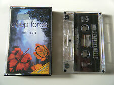 DEEP FOREST BOHEME CASSETTE TAPE SONY RUSSIA 1995