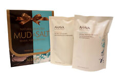 Ahava Natural Dea Sea Mud & Salt Gift Set, 13.6 Oz & 8.5 Oz