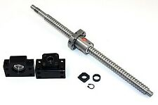 """69"""" inch Travel Stroke 20mm Anit-Backlash Ballscrew set with Nut and Bearing Sup"""