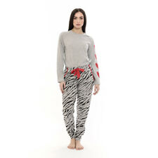 Pigiama donna 100/% cotone Antonio Basile Manica Lunga Pantalone Lungo Art.BD2301