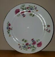 "Vintage England Salisbury Collectible Eggshell Bone China ""Fragrance"" Plate ~8"""