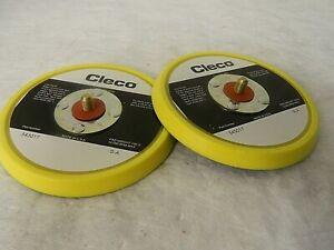 "Cleco 5"" Diam Adhesive/PSA Disc Backing Pad QTY 2 543017"