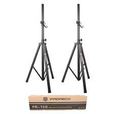 New PRORECK Portable Adjustable Height Tripod Dj/PA Speaker Stands 6FT-2PCS