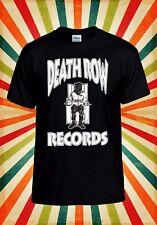 Death Row Records Dr Dre Tupac Drake Men Women Vest Tank Top Unisex T Shirt 116E