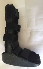 MAXTRAX Orthopedic Medical Walking Boot Ankle Foot Brace Cast -Size M- Black
