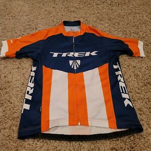 Bontrager TREK Medium Bicycle RACING Cycling Jersey Full-Zip Shirt W/ Pockets