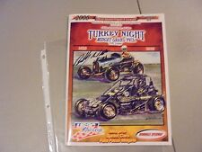 NOVEMBER 23,2006 USAC TURKEY NIGHT PROGRAM,IRWINDALE,CA.,WEASE WINNER SIGHED