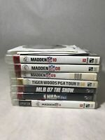 Lot Of 10 Ps3 Games Sports Lot!