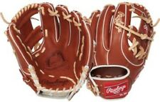 "Rawlings PROS314-2BR 11.5"" Pro Preferred Series Infield Baseball Glove Pro I Web"