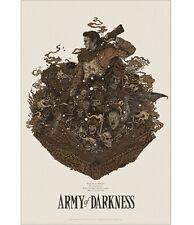 ARMY OF DARKNESS RICHEY BECKETT POSTER MONDO