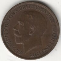 1918 George V Farthing Coin | British Coins | Pennies2Pounds