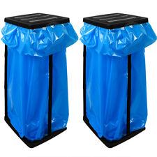 2x Müllsackständer Mülleimer Abfalleimer 60 Liter Halter Gelber Sack Müllsack
