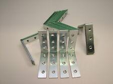 Right angle L bracket corner brace 75x20mm fixing support bracket, pack of 25